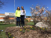 CIA Beautifies Marian Central's Campus!