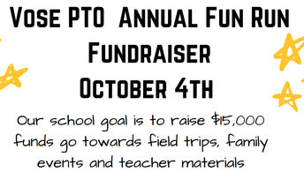 Fun Run School-wide $15,000 goal!