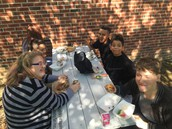 Lunch Time at the Middle School