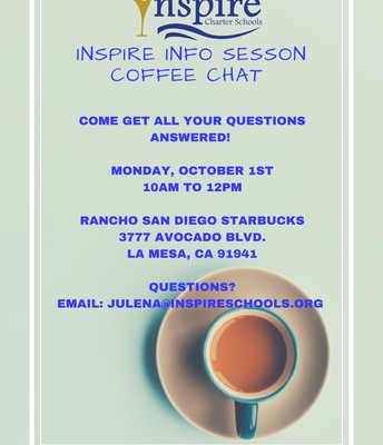 Info session Coffee Chat