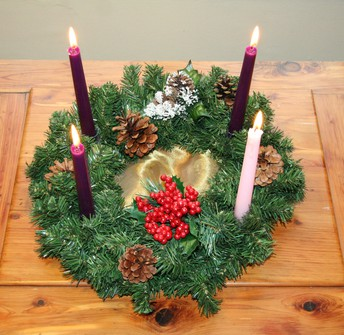 Advent Wreath Family Night Out