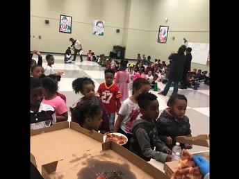 Cafeteria Winners- Kindergarten