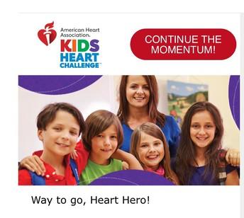 Lincoln Kids Heart Challenge