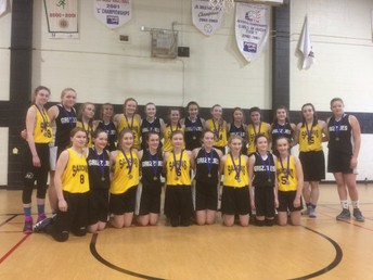 Grade 8 Girls Basketball