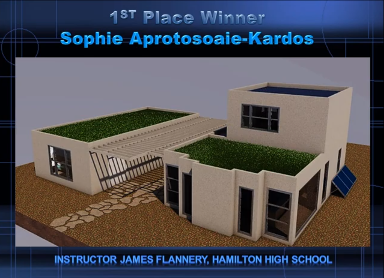 1st Place Winning Design by Sophie Aprotosoaie-Kardos