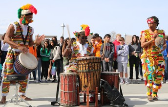 World Beat Center Comes to Westview HS