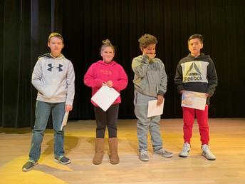 6th grade third honors