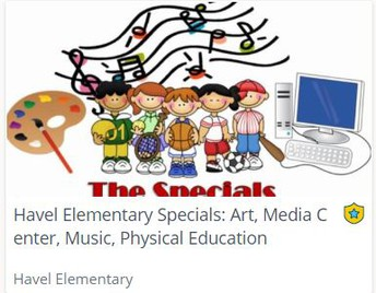 Specials Classes Now In Schoology