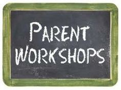 Parent workshops - by Mr Aidan Stallwood