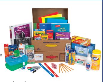 SCHOOLKIDZ Supply Kits for 2018-2019
