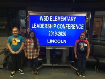 Lincoln School Leaders!!