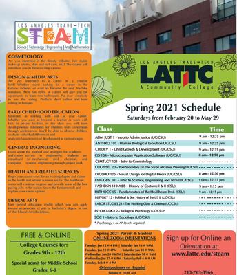 LATTC STEAM Enrichment Courses