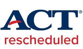 April 4th ACT date is Postponed
