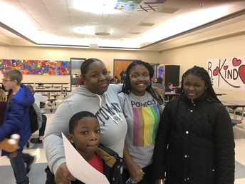 Carver MS Success is a Family Affair!