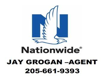 Nationwide Jay Grogan, Agent, logo