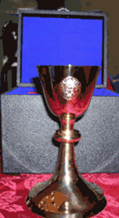 ST. MARGARET MARY CHURCH TRAVELING VOCATION CHALICE