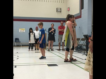 Sharing Assembly fun - Staff vs. Student French directions
