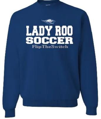 Lady Roos Soccer Spirit Wear