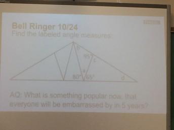 Geometry Bell Ringer