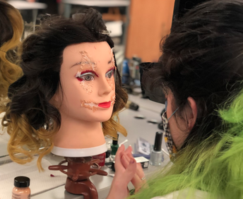 Cosmo Students Create Ghoulish Mannequins