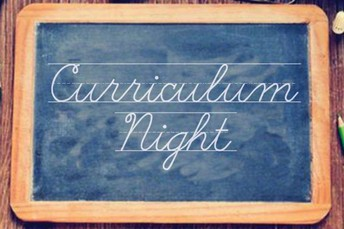 2019 Middle School Curriculum Night