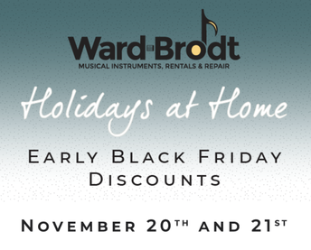 Ward Brodt Early Black Friday Sale!