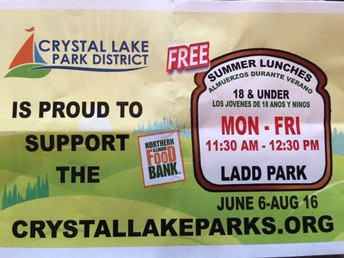 Free Summer Lunch Program for Crystal Lake Youth