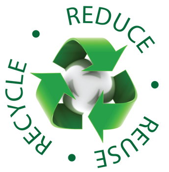 Conservation Logo. Reduce, Reuse, Recycle