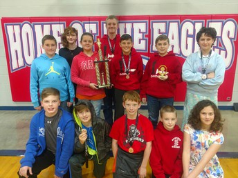Concordia K-8 Chess Team