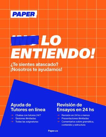 TUTORÍA DISPONIBLE 24/7
