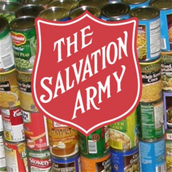 Salvation Army Canned Food Drive!