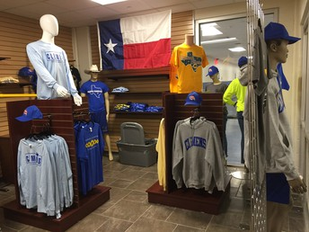 interior shot of some of the merchandise available at buffalo trading company