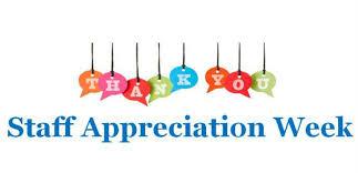 Staff Appreciation Week - March 25-29