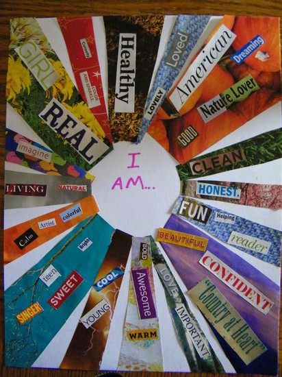 "Sample ""I AM"" Collage"
