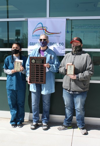 Career Center students recognized as Outstanding Vocational Students by Altrusa International!
