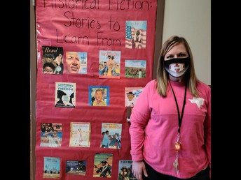 Mrs. Clark celebrates BHM!