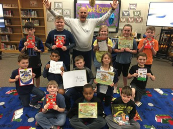 GALLERY: Award-winning author visits AES