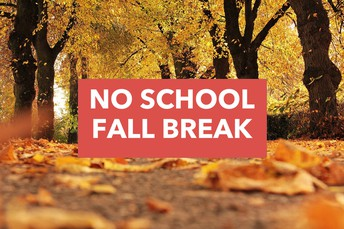 Fall Break--Monday, October 5th
