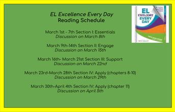 Professional Development: EL Book Club