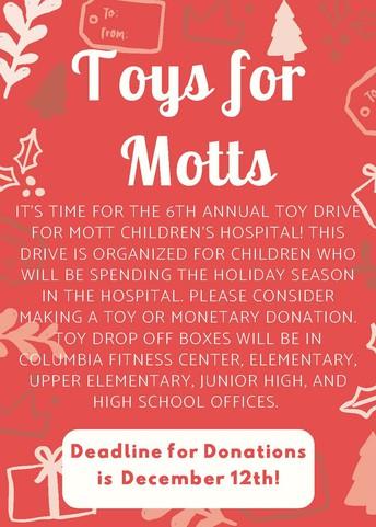Toys for Motts!