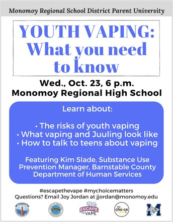 Parent University: Youth Vaping - What you need to know