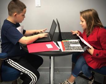 4th Grade Superhero Lab Researchers