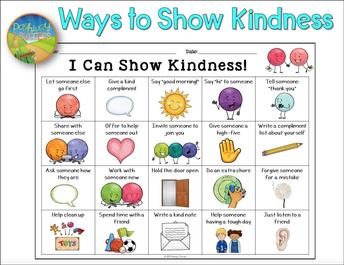 Ways to Show Kindness