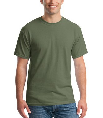 $10 SS Military Green Basic Tee