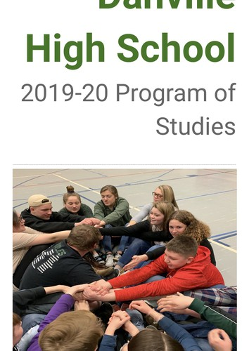 High School Program of Studies
