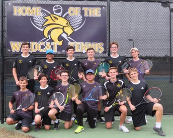 RHHS Boys Tennis Team