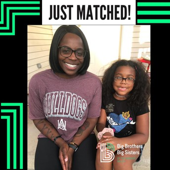 New Match - Big Sister Kanesha & Little Sister Ky