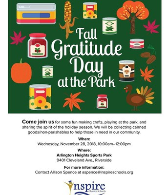 Fall Gratitude Day at the Park