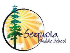 Sequoia Middle School Future Parent Info Night, Thursday 11/14