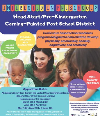 CPP Head Start/Pre-K Registration